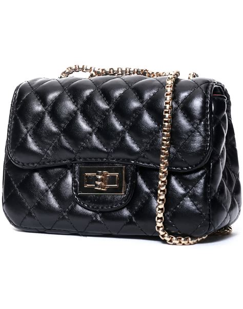 black pattern handbags black diamond pattern chain bag shein sheinside