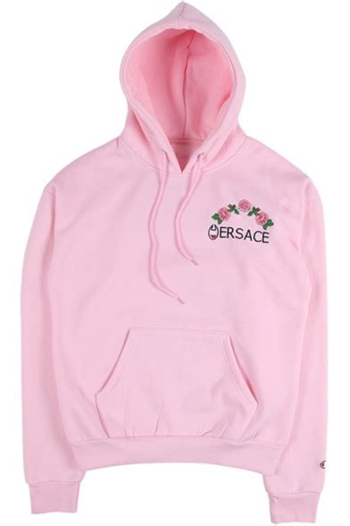 Instant Hoodie Rina Premium 3 drawstring hooded embroidery letter floral pattern hoodie sweatshirt with one pocket