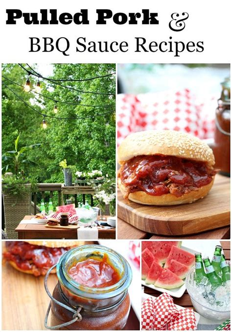 pulled pork and bbq sauce recipes refresh restyle