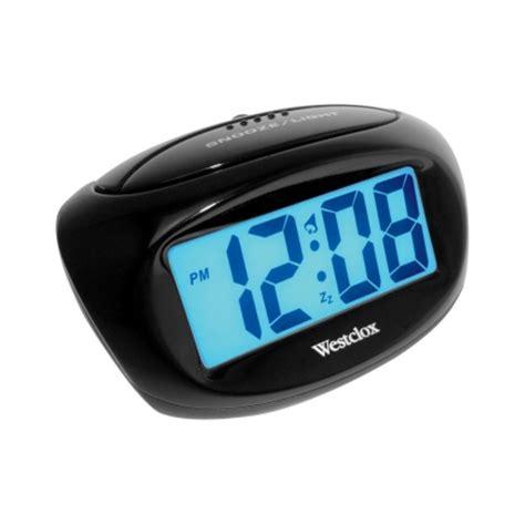 Gembok Alarm Ace Hardware westclox black 1 in alarm clock digital lcd 70043x digital clocks alarm clocks ace hardware