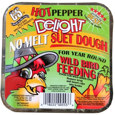 c s suet hot pepper delight patio outdoor decor
