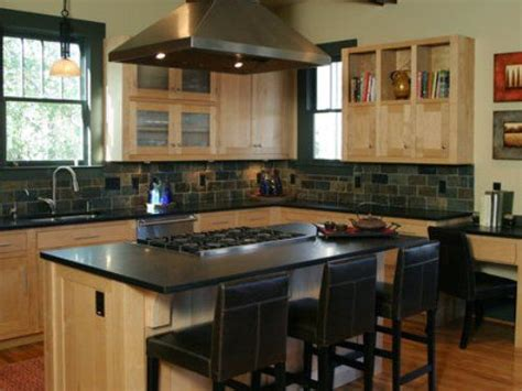 kitchen islands with stove and seating for the home