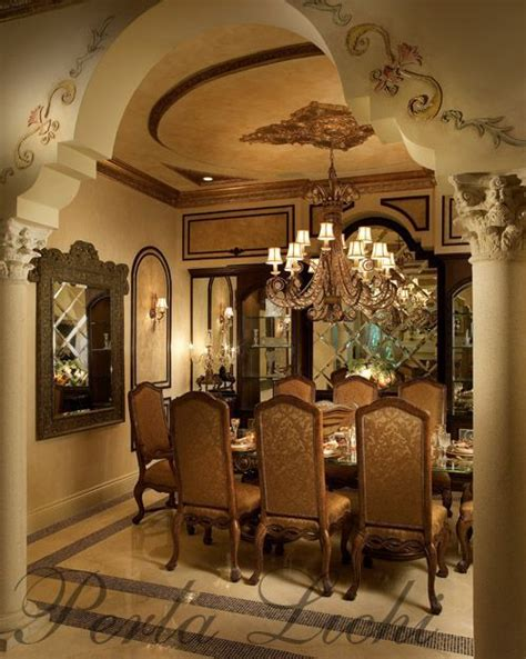 mediterranean dining room  images beautiful dining