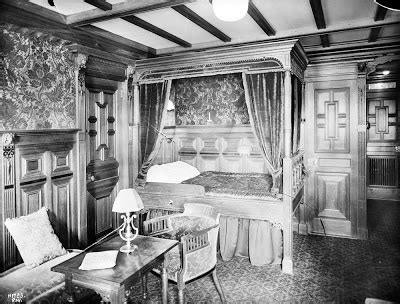 first class bedrooms on the titanic the titanic gazette straus suite