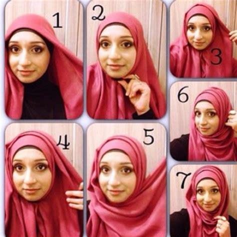 Cara Membentuk Kerudung Segi Empat cara pakai jilbab segi empat sehari hari jinglepuff butik