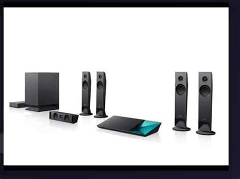 sony bdv nw  channel  blu ray disc home theater