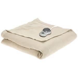 beheizbare decke sunbeam imperial nights electric heated warming blanket ebay