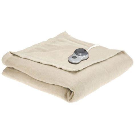 Sunbeam Therapedic Heated Blanket by Sunbeam Imperial Nights Electric Heated Warming Blanket Ebay