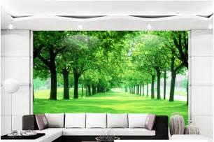 aliexpress com buy custom wall mural nature green trofast rangement mural ikea