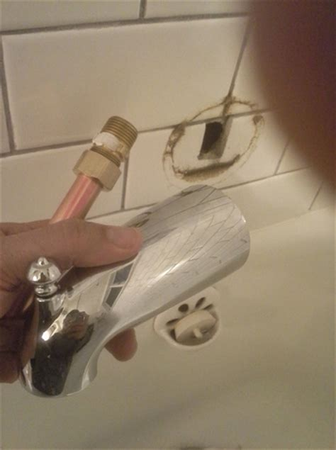 bathtub spout removal how the sharkbite plumbing tool makes life easier