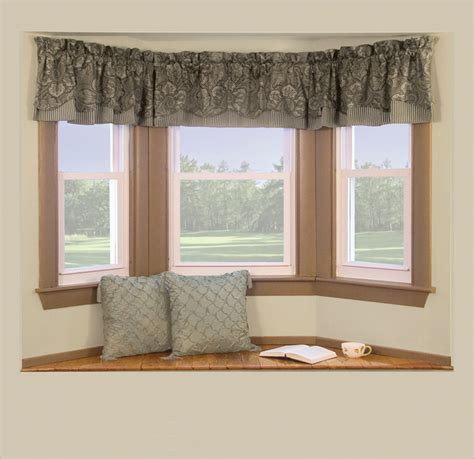 window dressing ideas window treatments ideas for bay windows home intuitive