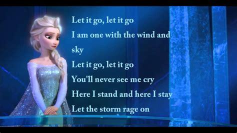 film frozen let it go full movie frozen let it go idina menzel full lyric video youtube