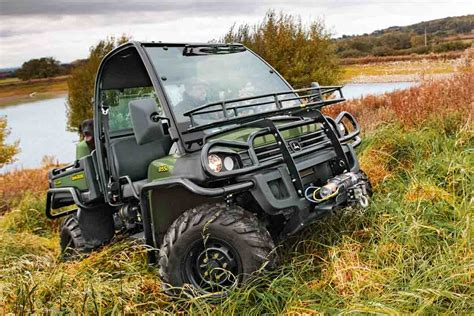 xuv 855d gator features new power steering
