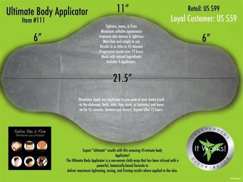 It Works Detox Wrap Side Effects by How The It Works Ultimate Wrap Works