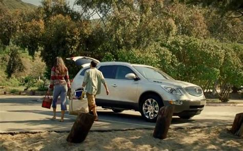 actress in buick beach commercial with husband buick aims to redefine luxury in new final four commercial