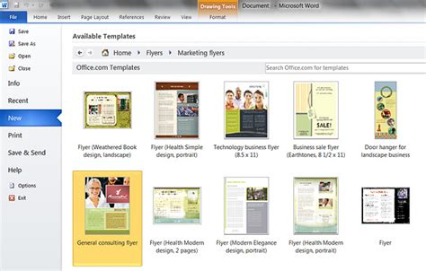 microsoft word 2010 brochure templates microsoft word brochure template 2010 csoforum info