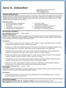 database administrator resume sample resume downloads