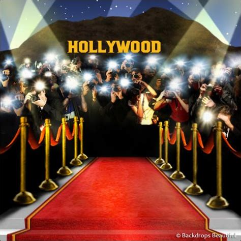 Holiday Home Interiors by Paparazzi Celebrity Hollywood Backdrop 4a Backdrops