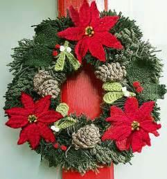 Christmas yarn wreath christmas wreath knitted wreath crochet