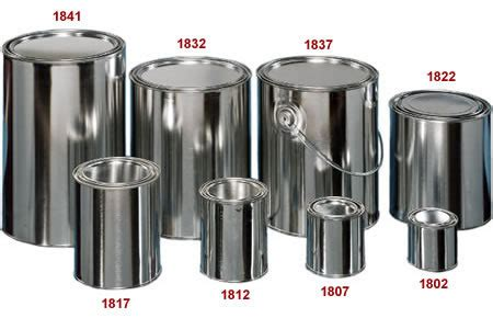 1 quart paint cans for sale metal paint cans