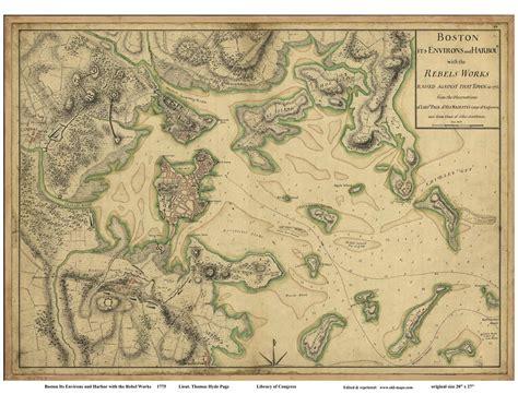 boston map 1775 maps of boston