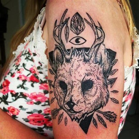 jackalope tattoo jackalope