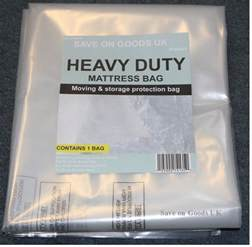 heavy duty mattress storage polythene plastic bag thick