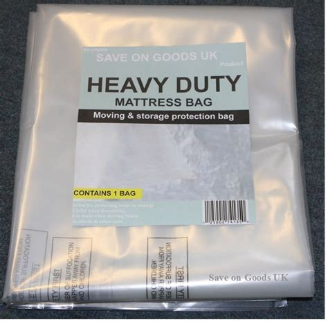 Plastic Mattress Cover For Moving Home Depot by Heavy Duty Mattress Storage Polythene Plastic Bag 500