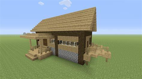 minecraft een huis minecraft een houten huis maken 26 youtube