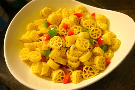 simple pasta salad simple pasta salad caribbean green living