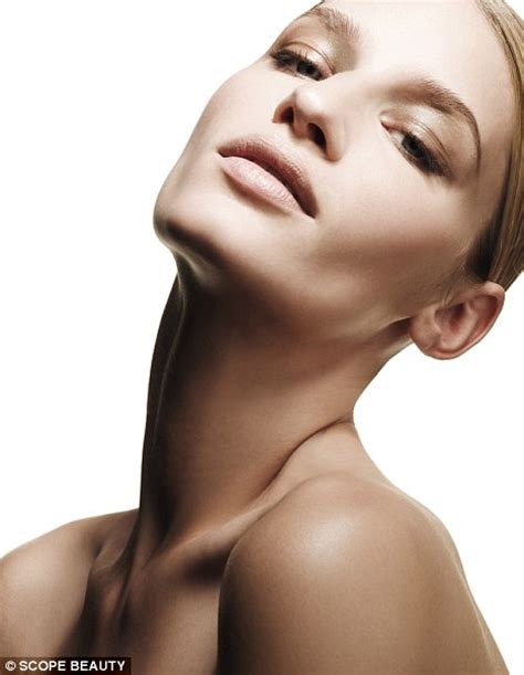 pictures of a woman s neck and jaw line why splash out on anti ageing face creams if your crinkly