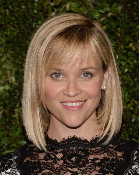 bobhaircut with side bangs wispy sides reese witherspoon s bob and wispy bangs the best