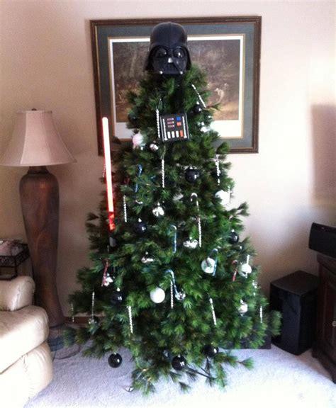 darth vader christmas tree geektyrant