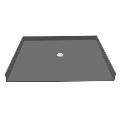 redi base 33 in x 63 in barrier free shower base with