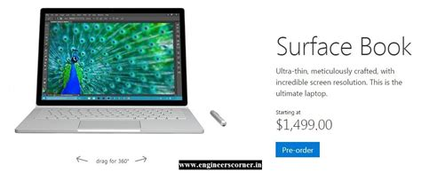 microsoft surface book specs introducing all new microsoft surface book tech