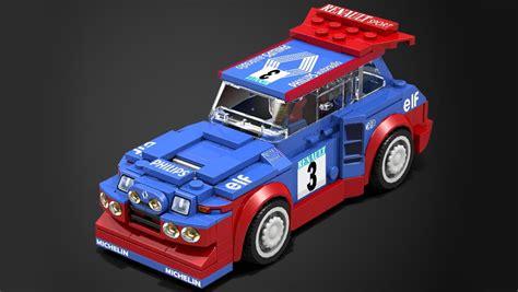 renault lego este renault 5 maxi turbo de lego es el regalo que