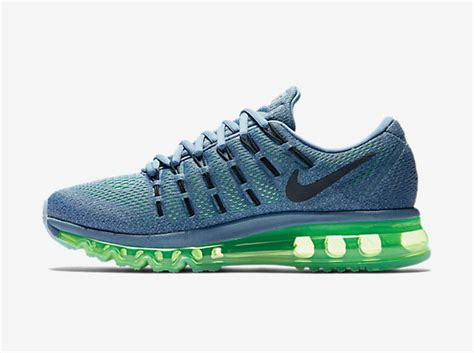 womens air max running shoes air max 2016 nike running shoes blue grey green