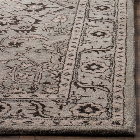 and beige area rug safavieh antiquity collection grey and beige area rug 5x8 tufted wool save 30