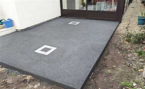 terrasse beton terrasse beton prix