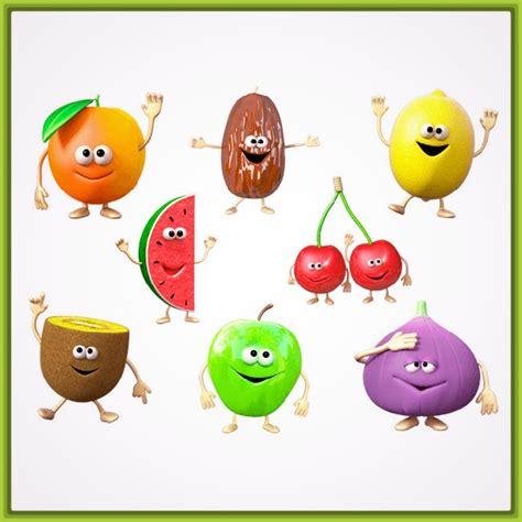 imagenes de videos infantiles dibujos infantiles de frutas y verduras a color archivos