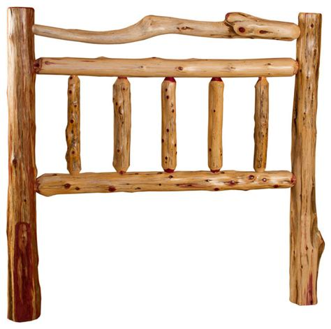 cedar headboard rustic red cedar log queen headboard queen size rustic