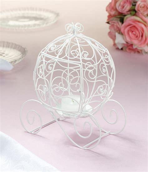 cinderella coach tealight candle wedding bliss baby kiss