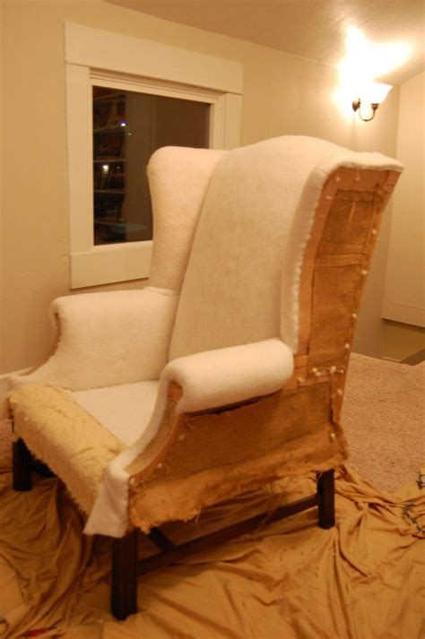 Reupholstering An Armchair by How To Reupholster A Chair Useful