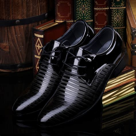 cheap mens dress boots get cheap mens patent leather dress shoes