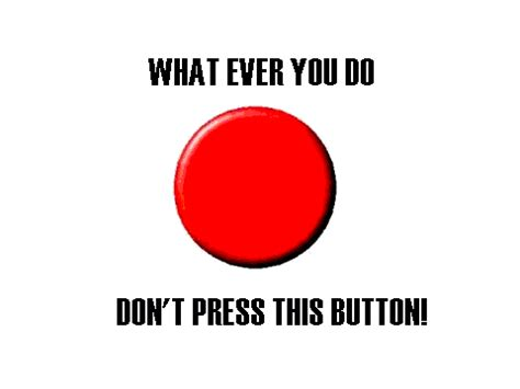 How To Make A Paper Push Button - don t press the button 1 on scratch