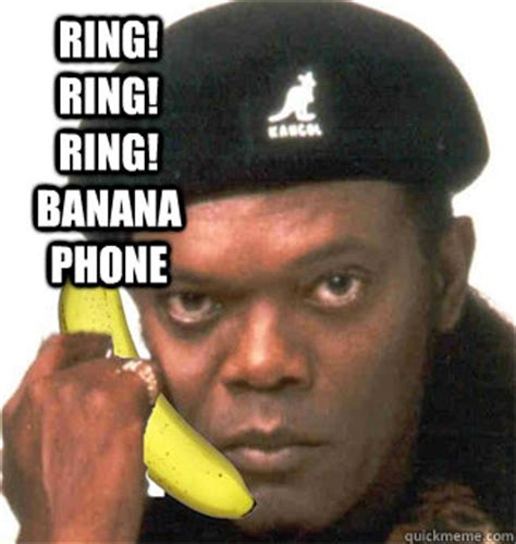 Banana Phone Meme - ring ring ring banana phone phone meme quickmeme