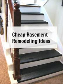 Inexpensive Basement Finishing Ideas Cheap Basement Remodeling Ideas