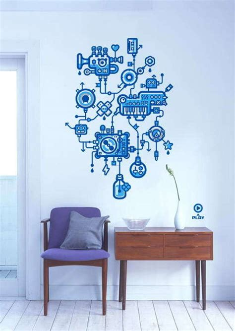 Decorative Stylish And Creative Stickers For Wall Decor Wall Decorations For Office