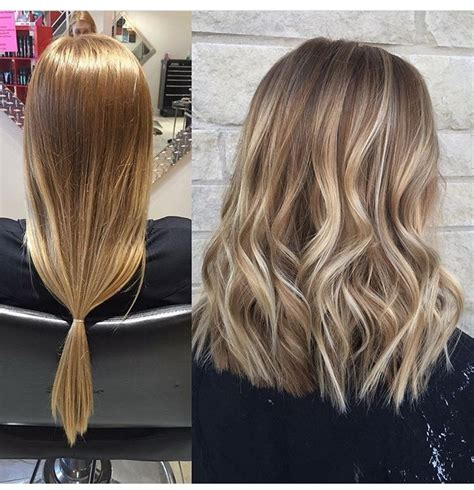 balayage highlights mid length hair before and after best 25 cut hair diy ideas on pinterest cut bangs hair