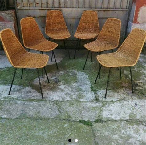 sedia vimini oltre 1000 idee su sedie in rattan su malacca